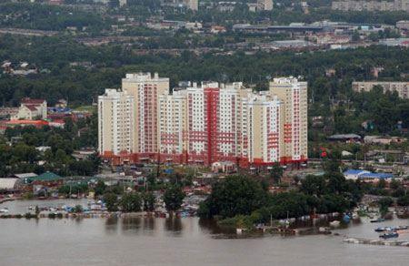 Наводнение на Дальнем Востоке 2013