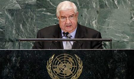 Глава МИД Сирии Валид Муаллем