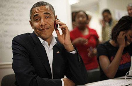 Президент США Барак Обама: дорогая, я в тюрьме в России. Шутка!