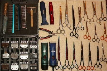 Инструменты для стрижки животных