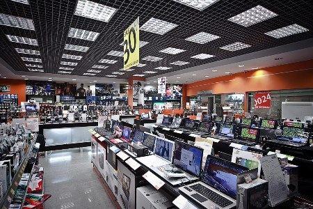 Реальные и виртуальные магазины электроники очень востребованы