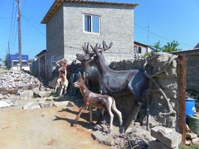 Забор скульптора