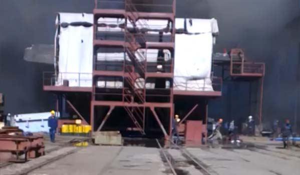 Пожар на атомной подлодке «Томск»