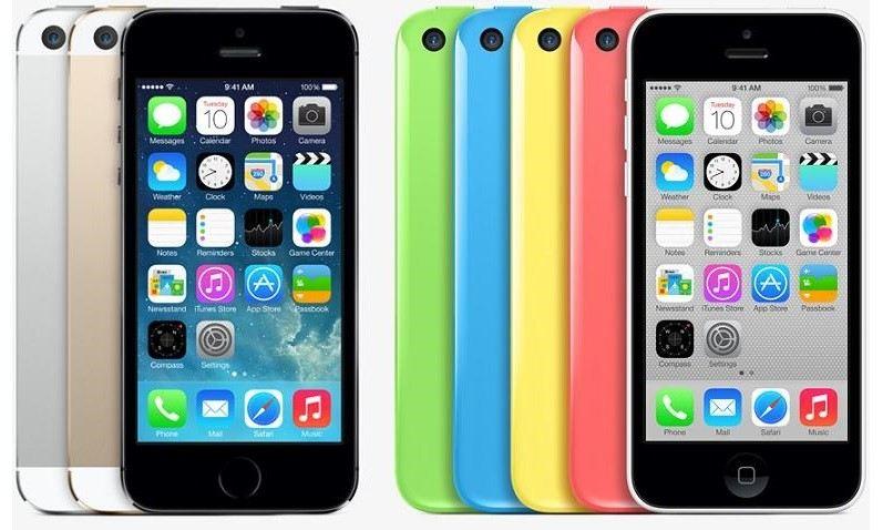 Новинки Apple: iPhone 5S и iPhone 5C