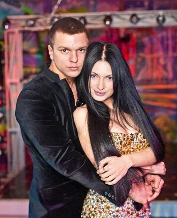 Евгения Феофилактова и Антон Гусев любят проводить время вдвоем