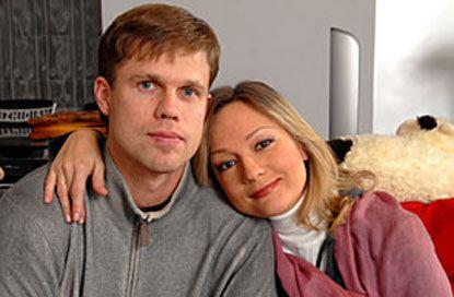 Татьяна Буланова с мужем