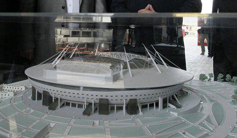 «Зенит-Арена»: Желаемое пока на макете