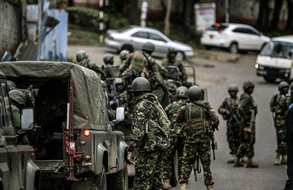 Теракт в торговом центре в Найроби, Кения