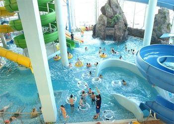 Новый аквапарк работать начнет в октябре