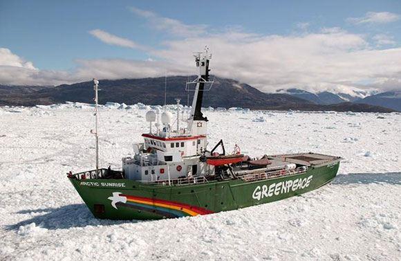 Судно Greanpeace Arctic Sunrise (Арктик Санрайз)
