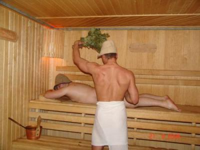 Баню в России любят