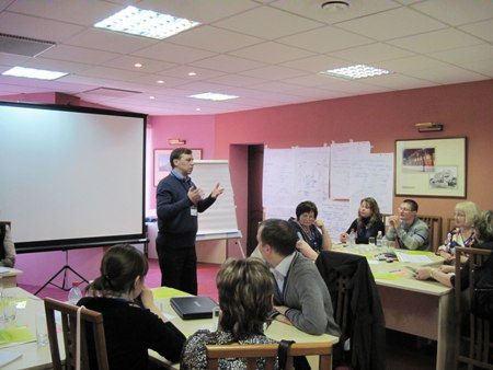 Тренинги по социальному предпринимательству проходят во многих городах России