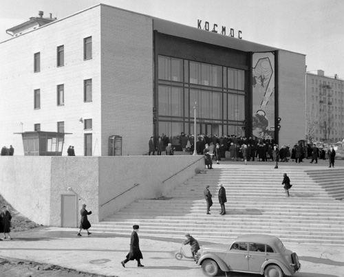 «Космос» в 1962 году