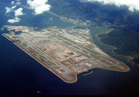 Hong Kong Airport is one of the largest in Asia