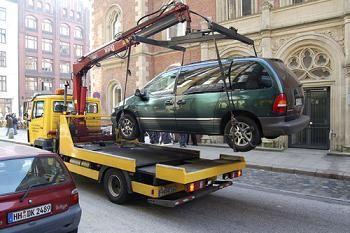 Машины на штрафстоянке будут застрахованы