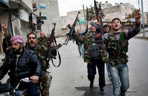Повстанцы в Сирии, 2013 год