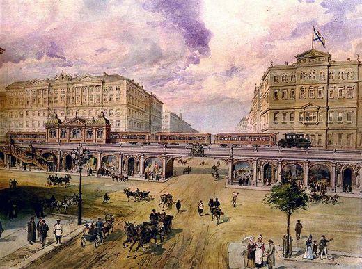 Таким виделось питерское метро при Николае II