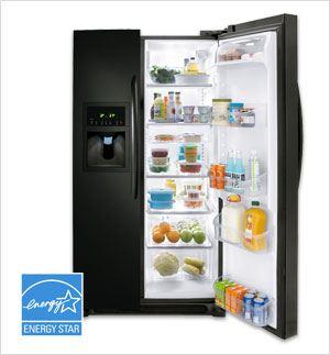 Двухдверный холодильник side-by-side