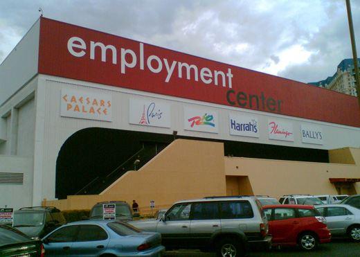 Центр занятости в Лас-Вегасе
