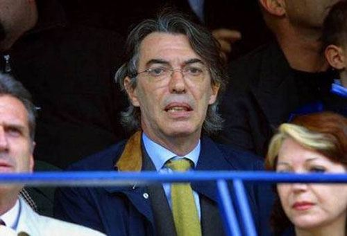 Фото: Массимо Моратти, совладелец клуба «Интер Милан»