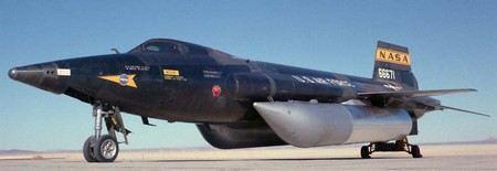North American X-15 - самый быстрый самолет-ракетоплан в мире