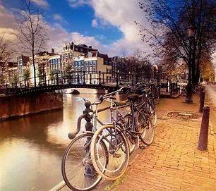 Амстердам - велосипедный рай
