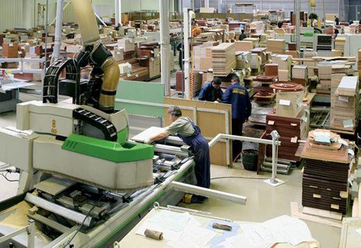 Обычное мебельное производство