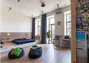 Дизайнеры представили необычную квартиру для молодых