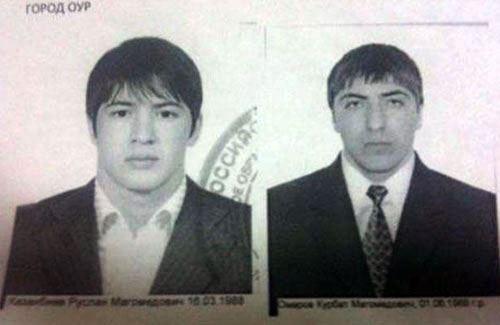 Фото: 25-летний Руслан Казанбиев и 25-летний Курбан Омаров