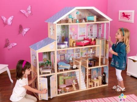 Кукольный домик - увлекательная игра для девочек