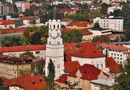Любляна - очаровательная столица Словении