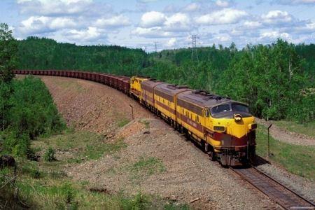 Железная дорога - не менее востребована
