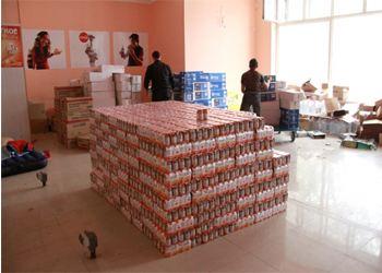 Яна Поплавская собрала пострадавшим из Дальнего Востока 35 тонн теплых вещей