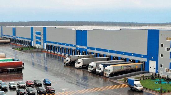 Крупный складской комплекс под Санкт-Петербургом