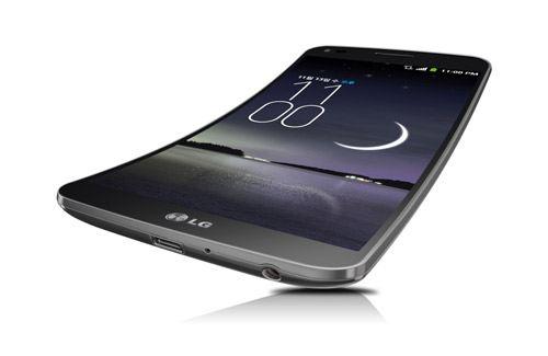 Новый LG G-Flex