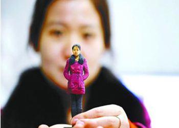 До России тоже дошла волна печати на 3D-принтере миниатюрных копий людей