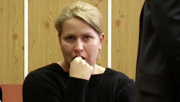 Евгения Васильева на скамье подсудимых