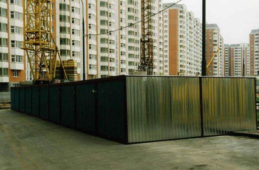 До недавних пор гаражи-ракушки были очень популярны в российских городах