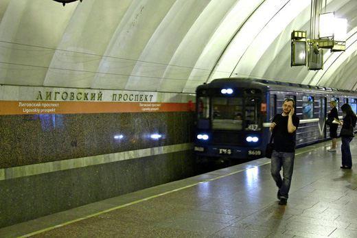 Станция «Лиговский проспект» в Санкт-Петербурге