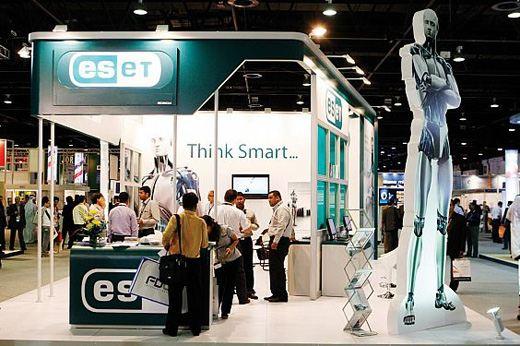 Стенд компании ESET на выставке