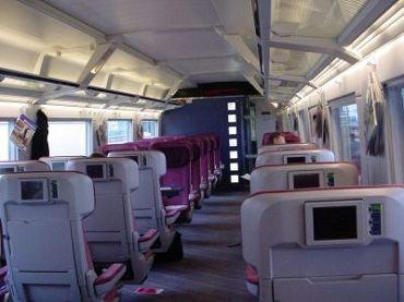 Новый вагон 1-го класса
