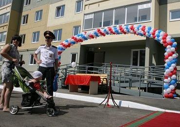 В Перми сдан дом для полицейских на 99 семей