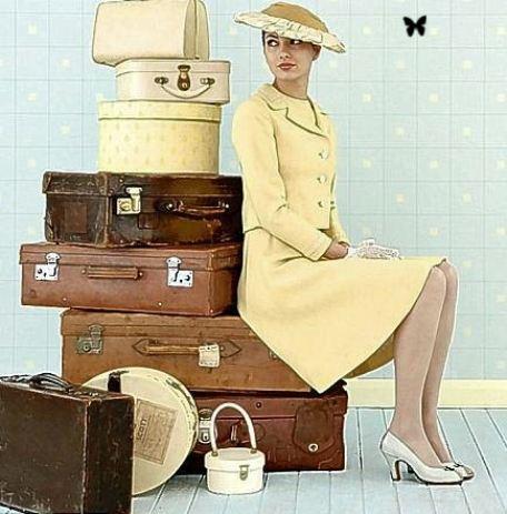 Дама сдавала в багаж...