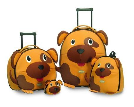 Весёлые детские чемоданчики
