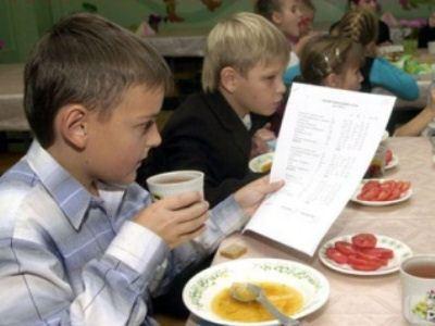 Питание детей - задача, решаемая на государственном уровне