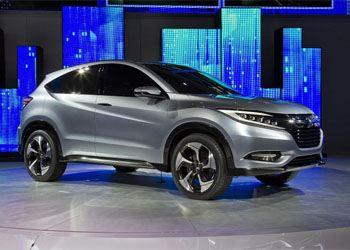 В Сети появились изображения новинки-кроссовера Honda