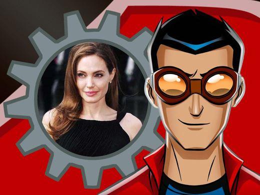 Коллаж с персонажем из мультсериала «Генератор Рекс»
