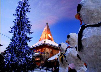 Финляндию посетят около 450 000 российских туристов на новый год