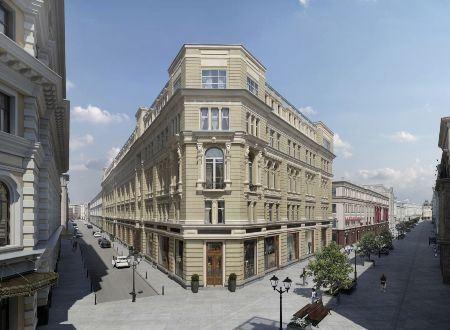 Шереметевское подворье на Никольской улице отреставрируют через два года