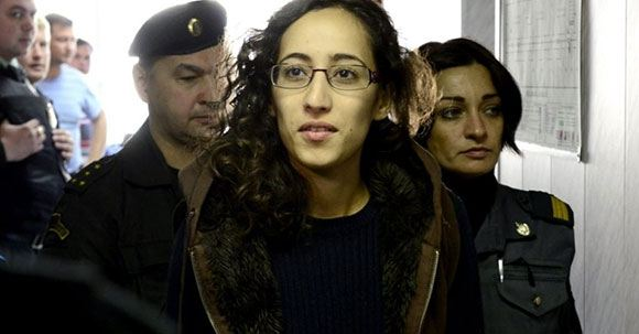 Фаиза Аулахсен в сопровождении ФСБ